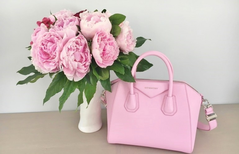 Sac Givenchy antigona rose luxe